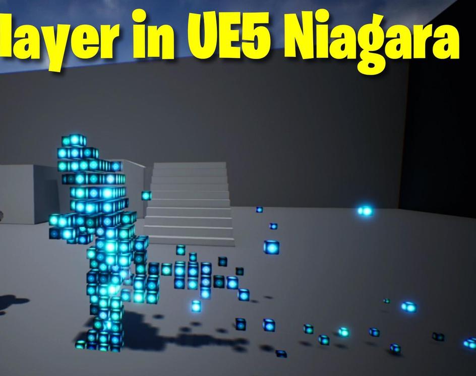 Voxel Player in UE5 Niagara Tutorial   Download Filesby Ashif Ali