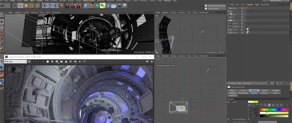V-Ray for Cinema 4D - Development Progress · 3dtotal · Learn