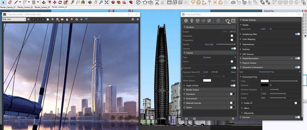V-Ray Next for SketchUp · 3dtotal · Learn | Create | Share