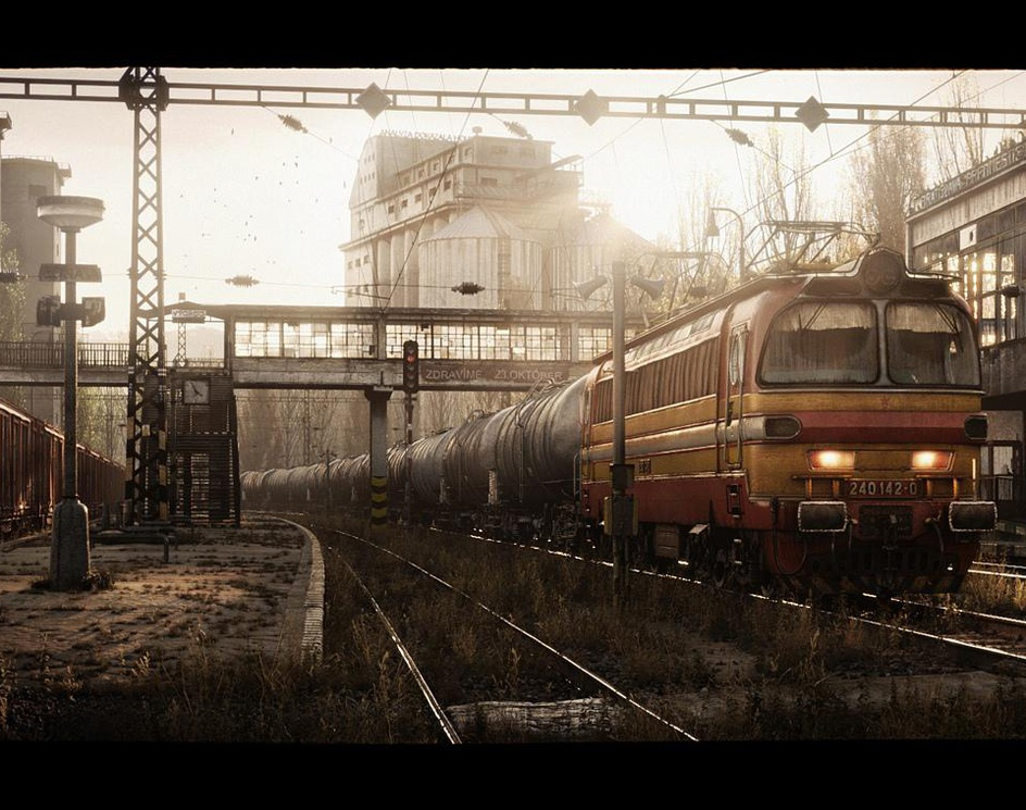 Electric locomotiveby Vsha