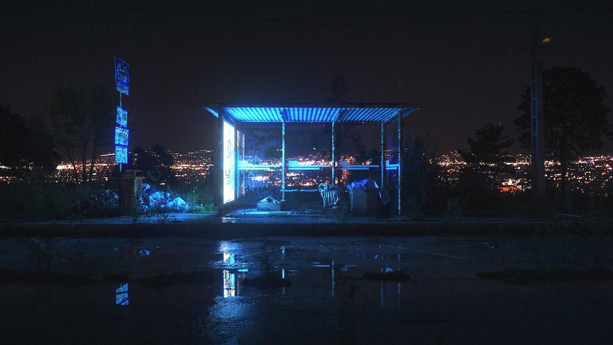 night bus shelter