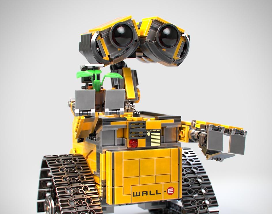 Lego Wall-E 21303 ( Custom Version )by Chaiyo Klinjandang