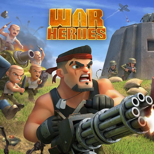 War Heroes mobile game 3d cartoon art