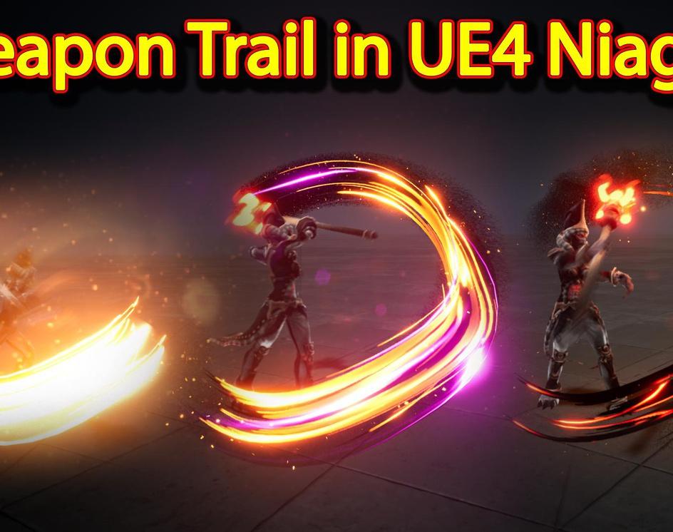 Weapon Trail Effect | Unreal Engine Niagara Tutorials | UE4 Niagara Weapon Trailsby Ashif Ali