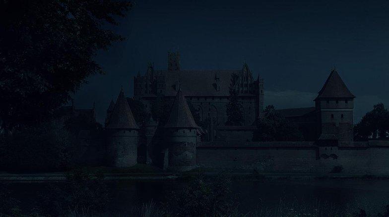 castle, matte painting, photoshop, no clouds