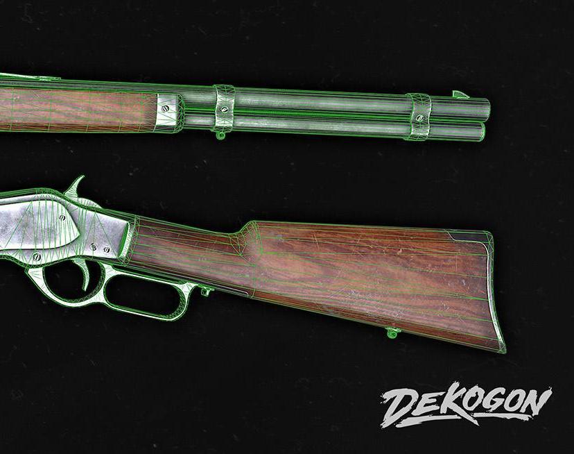 Lever-action Rifleby Nam Nguyen