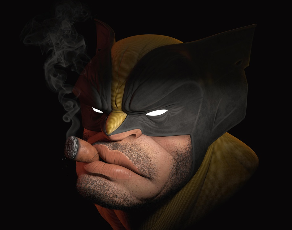 Wolverine - Stylized Bustby Javier Tercero