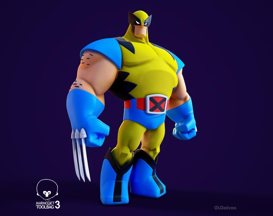Wolverine Stylizedby Gabriel L. Galvao