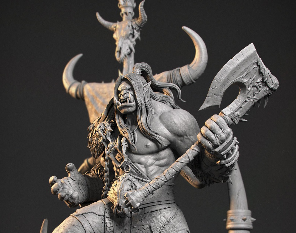 Grom Hellscream: The Horde Is Our Everything!by AbbasEmadi