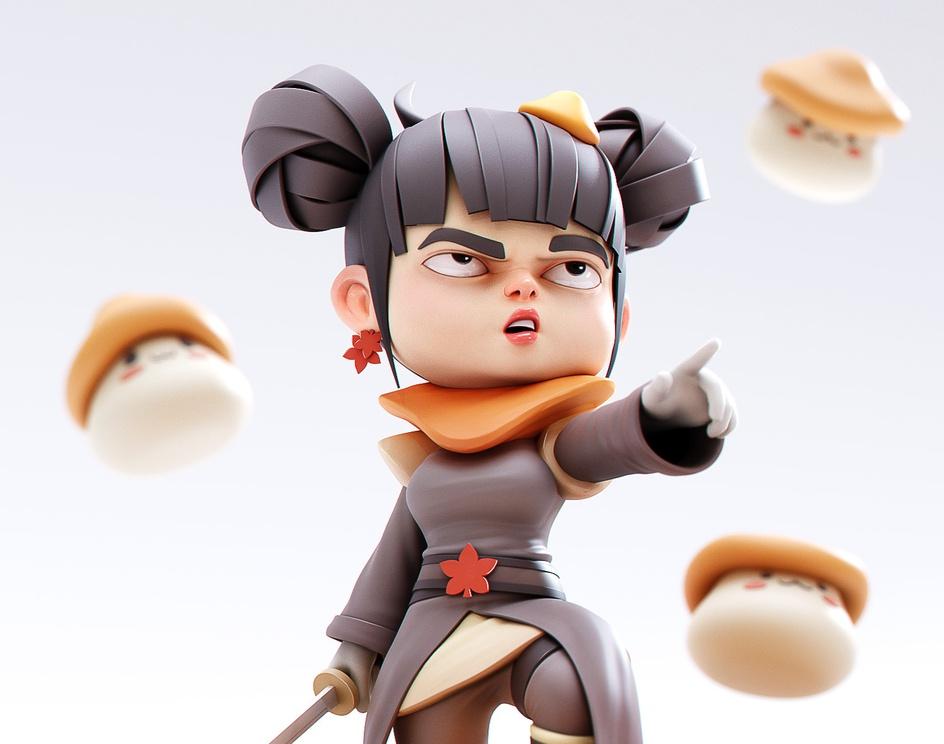 Mushroom Queen - MapleStory 2 Fanartby YanSculpts
