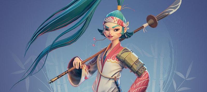 female asian character design model render 3d sculptor