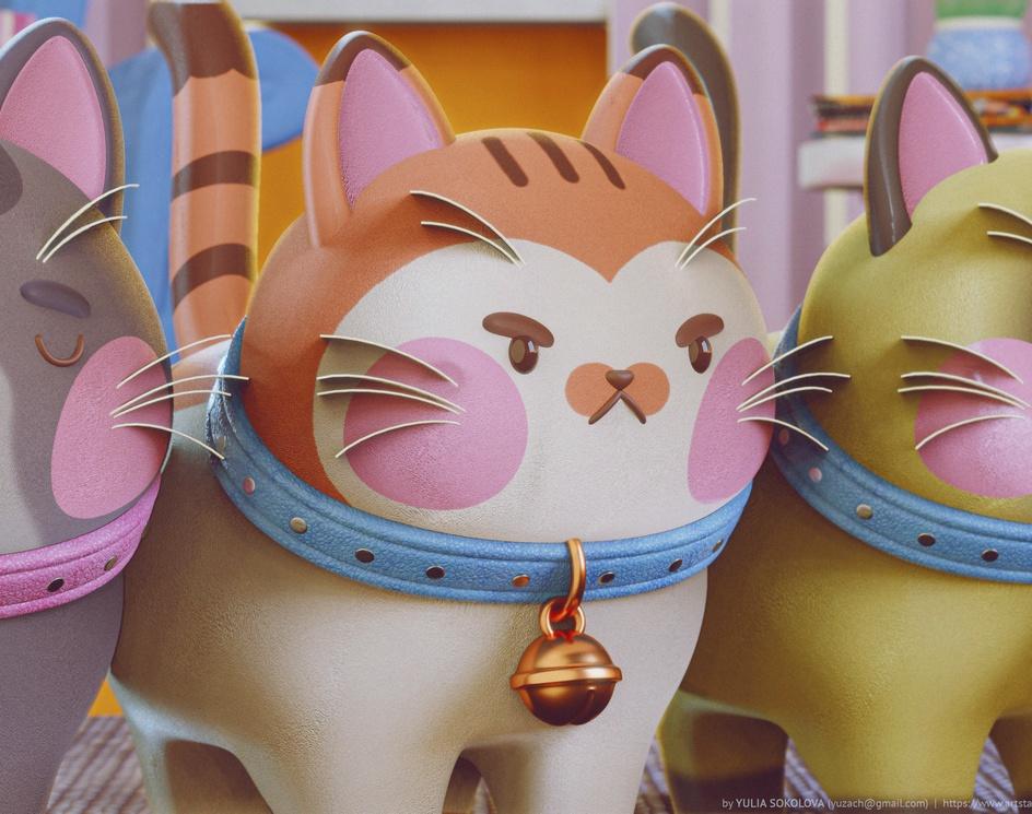 Cute Catsby Yuzach