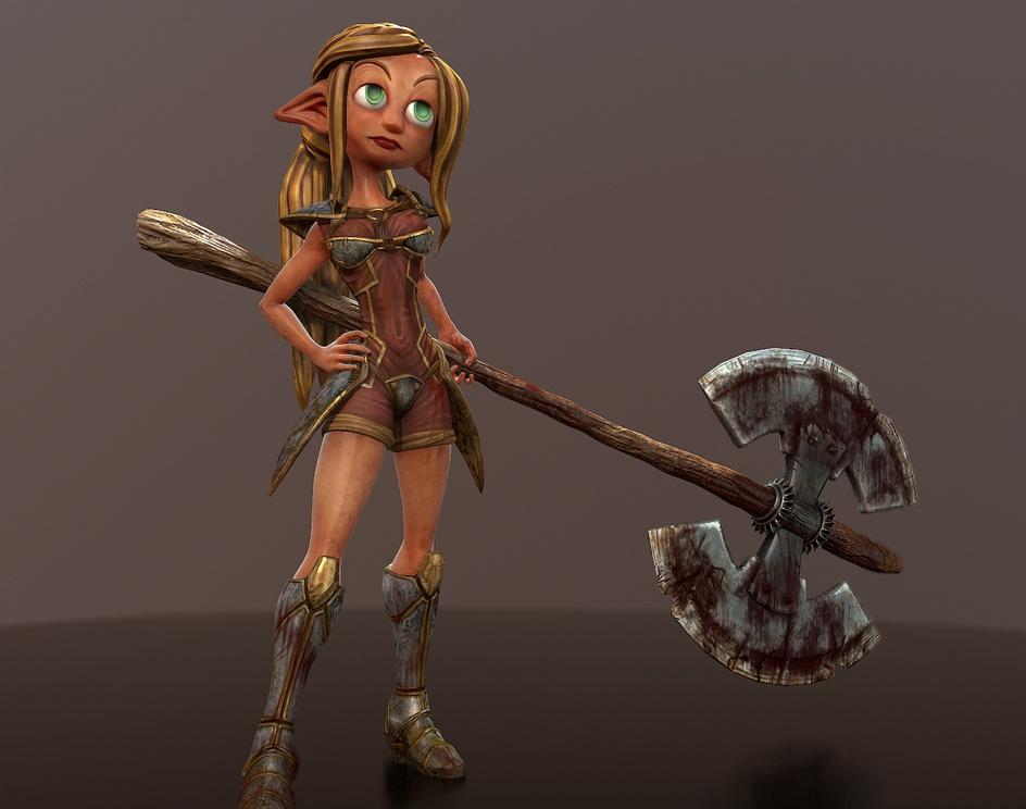 Lady knightby Zalkan