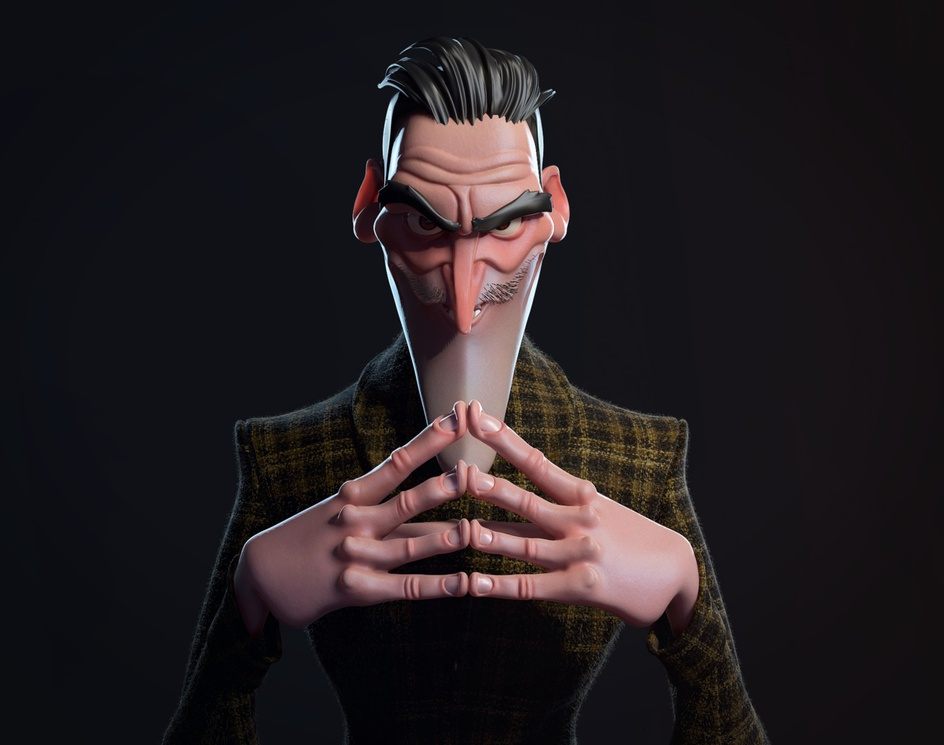 Evil Mastermindby Alvaro Zabala