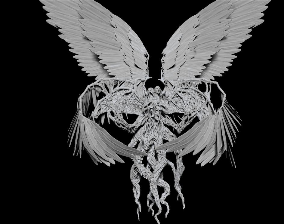 Brisela, Voice of Nightmares - Fanart - Magic the gatheringby Felipe Bomfim