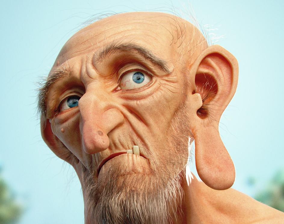Hairy Old Manby zeoyn
